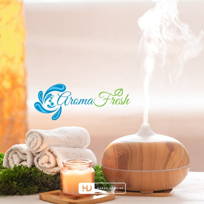 Aroma Fresh - Abstract Design - Corporate Logo Design - Graphic Designing Service in Hyderabad
