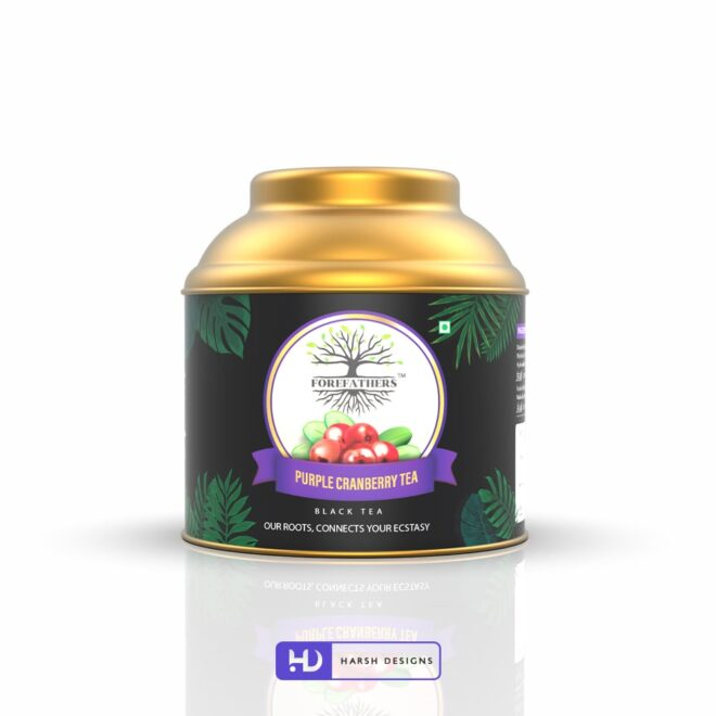 Purple Cranberry Tea - Forefathers Products - TruRadix Products - Premium Teas - Product Design - Lable Designs - Package Design - Graphic Designing Service in Hyderabad-min