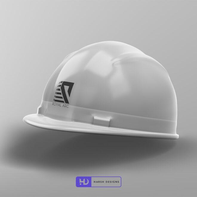 Royal Arc - Real Estate Logo Design - Construction Logo Design - Abstract Logo Design - Indian Logo Design - Corporate Logo Design - Graphic Designer Service in Hyderabad-min