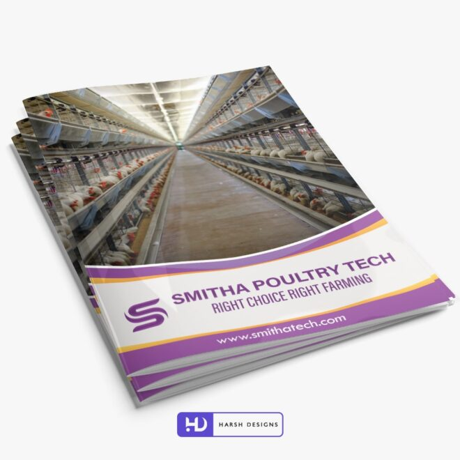 Smitha Poultry Tech Brochure Design - Corporate Identity and Business Stationery Design - Harsh Designs - Stationery Design / Brochure Design Service in Hyderabad - Graphic Design Service in Hyderabad